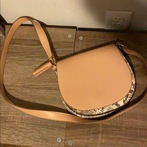 Old navy snake skin purse